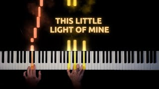 This Little Light of Mine - Piano Tutorial & Sheet Music