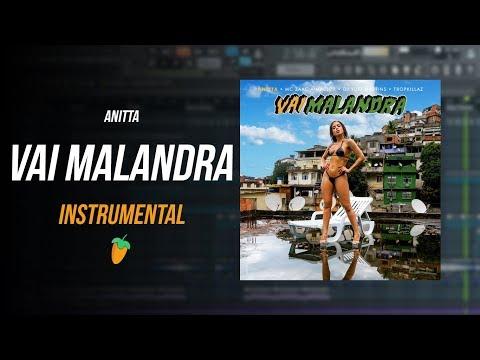 Anitta - Vai Malandra (Instrumental) + MP3 + FLP