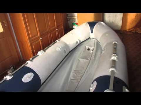 Ремонт ПВХ лодки Зодиак