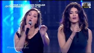 The Voice Of Greece Battles Χριστίνα Μακρή vs Αιμιλη Χαραλάμπους (Δυό μέρες μόνο) {7/3/2014}