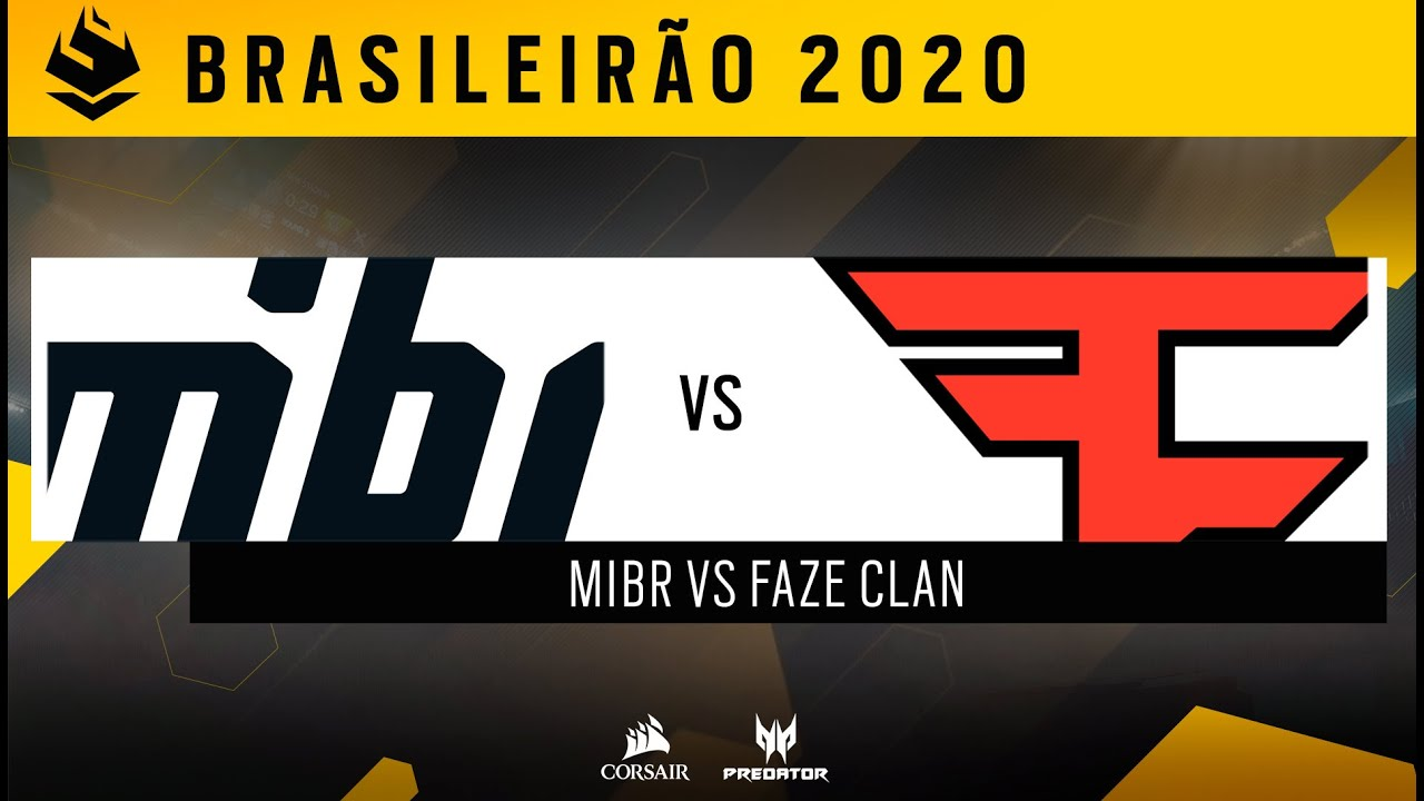 #BR62020   MIBR vs FAZE   DIA 2 - PRIMEIRO TURNO   Rainbow Six Siege