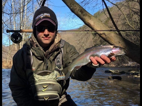 Tight Line Nymphing Central PA Winter 2017