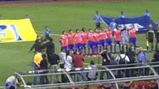Himno Nacional de Costa Rica durante la inauguración del Estadio Nacional donado por China.mp4