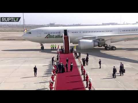 البابا فرنسيس يغادر بغداد بعد زيارة تاريخية للعراق استمرت 3 أيام