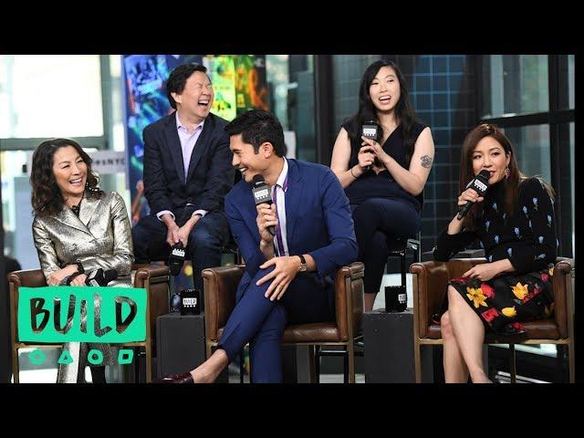 "Constance Wu, Awkwafina, Ken Jeong, Michelle Yeoh & Henry Golding Discuss \""Crazy Rich Asians\"""