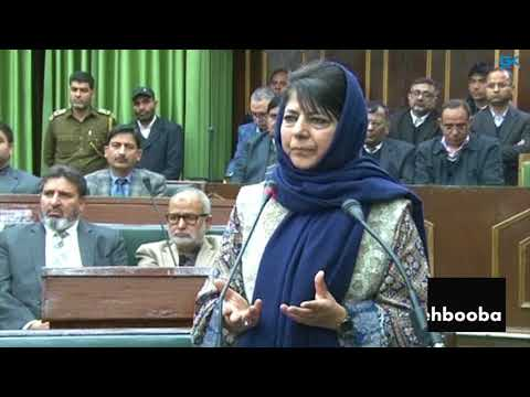 Dialogue with Pakistan necessary to end bloodshed in Jammu and Kashmir: Mehbooba