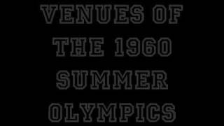 Venues of the 1960 Summer Olympics