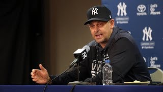 Aaron Boone 2019 Yankees spring training FULL PRESS CONFERENCE