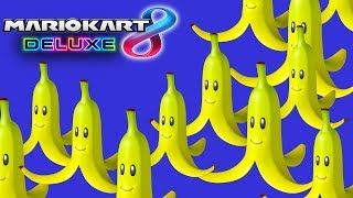 Bananas Only! (Mario Kart 8 Deluxe Funny Moments)