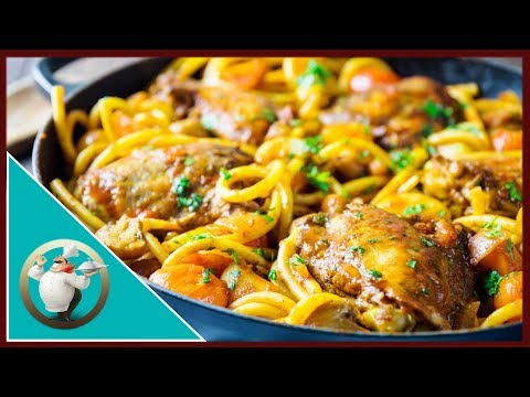 Syn Free Baked Spaghetti With Chicken | Chicken Spaghetti Recipe | Slimming World