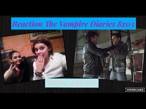 REACTION The Vampire Diaries 8x03 Tyler Lockwood e morto....