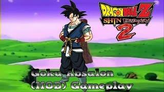 Dragon Ball Z Shin Budokai 2 | Goku Absalon (MOD) Gameplay