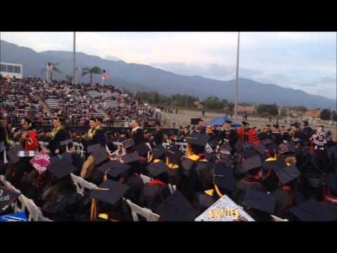 Graduación: Chaffey College 2014