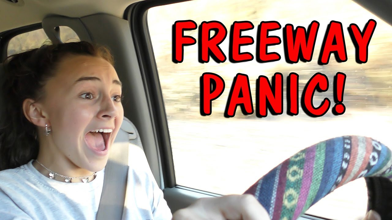 DOES KAYLA SURVIVE DRIVING ON THE FREEWAY?!?! | Kayla Davis