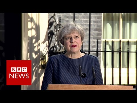 Theresa May seeks general election - BBC News