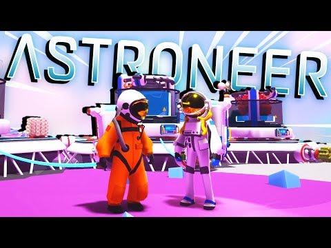 STRANDED in SPACE - AGAIN! - Astroneer Gameplay