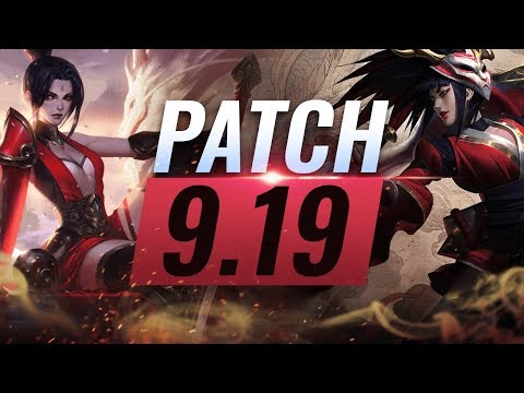 Best Champions TIER List – League of Legends Patch 9.19