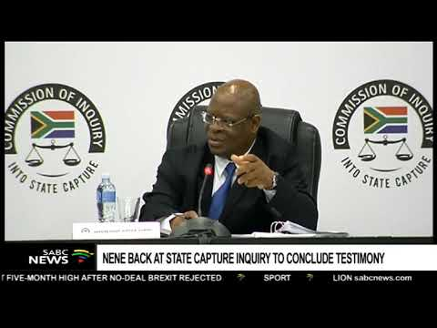 State Capture Inquiry | Nene denies PIC allegations