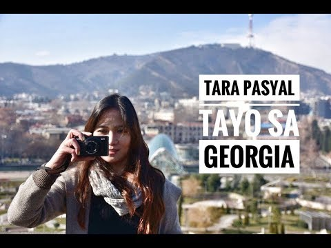 WINTER IN TBILISI GEORGIA -Travel Tour Jan 2018 ( Part 1)
