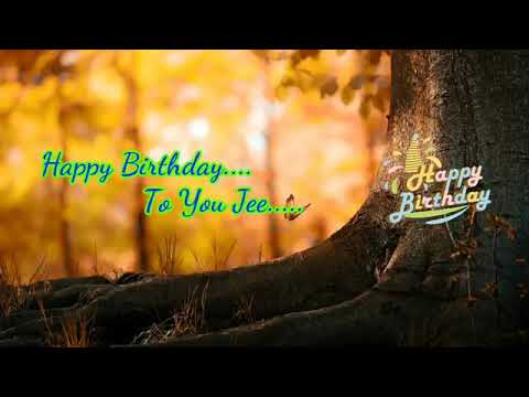 Birthday Song   Happy Birthday To You Jee   Lyrical Video