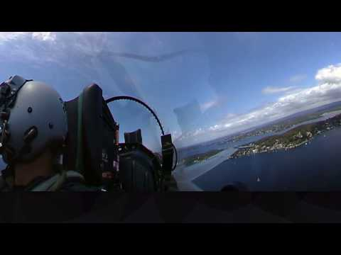 RAAF F/A-18 Hornets returning from...