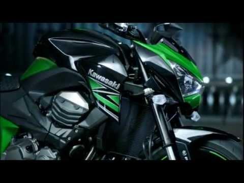 Nouveau Kawasaki Z800 2013 Hd Youtube