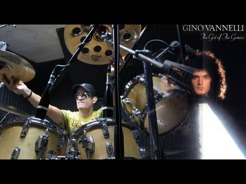 """Gino Vannelli - """"Fly Into This Night"""" Drum Cover Video From Gist Of The Gemini"""