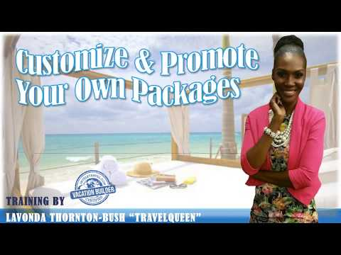"Travel Queen Training  ""How To Create Your Own Travel Packages & Promote Them"""