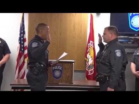 NUPD Promotion Ceremony | May 22, 2015