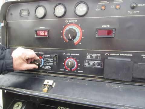 SOLD Lincoln Vantage 500 Welder Generator Diesel Trailer Mounted 2006 FOR  SALE $8800