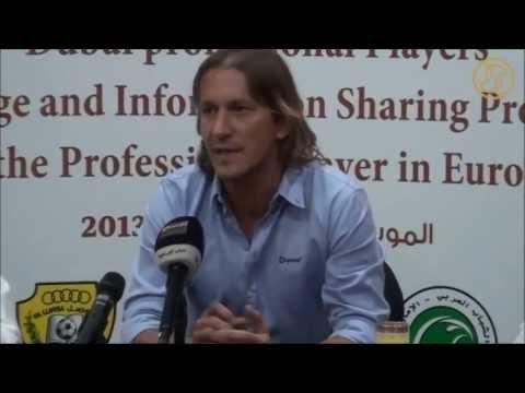 Michel Salgado Lecture About Professional Players Program