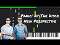 Panic! At The Disco - New Perspective Piano Tutorial