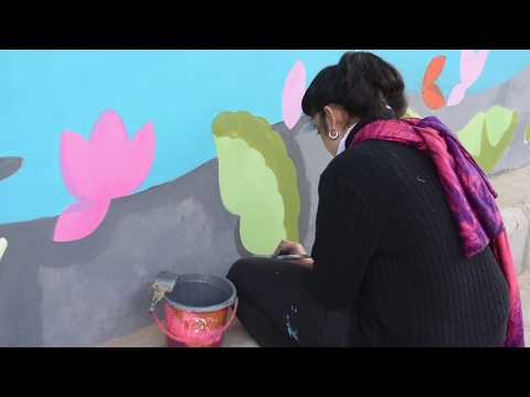 Street Art in Varanasi - A Documentary - Post-Art Project