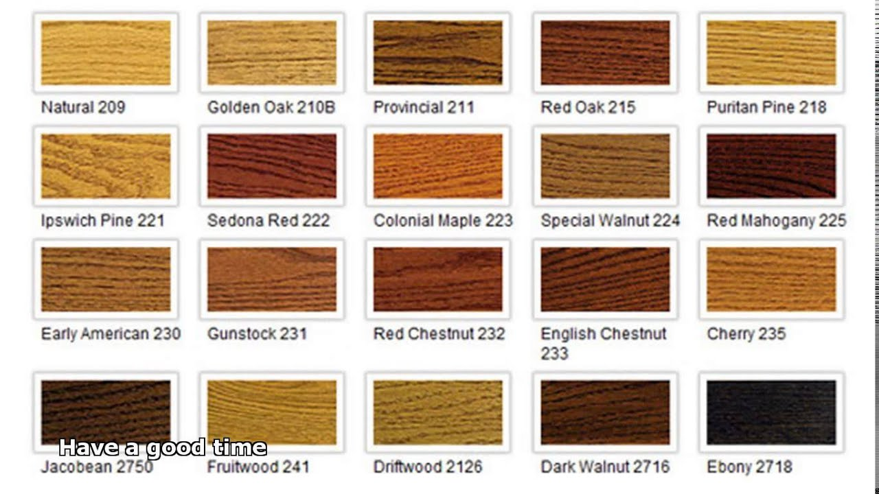 Hardwood floor stain colors youtube for Hardwood floor colors