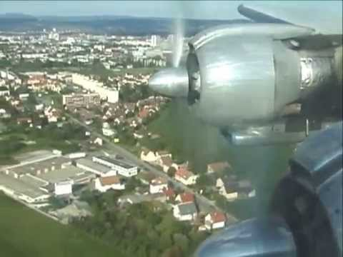 THE SIGHT & THE SOUND 2/2 : L-1049 Constellation N73544 inflight documentary from Berlin to Basel