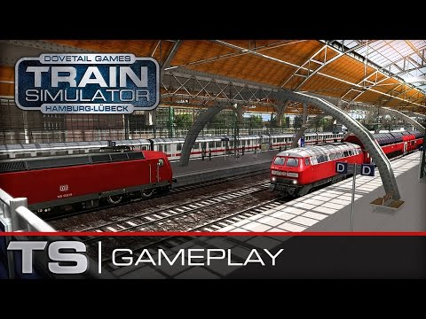Train Simulator 2016 Gameplay - Hamburg-Lübeck Railway