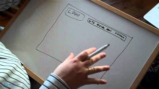 Create A Website: Sketching Out Your Site