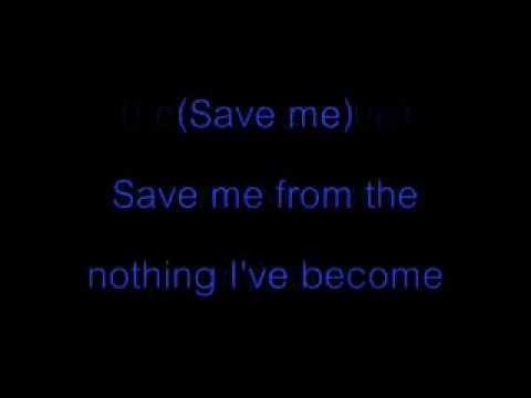 Bring Me To Life-Lyric-Evanescence