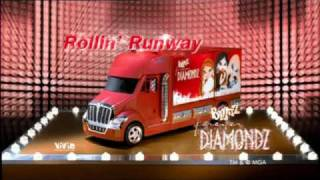 Скачать Bratz Forever Diamondz Rollin Runway Commercial