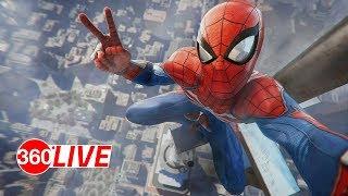 Spider-Man PS4 Pro Livestream