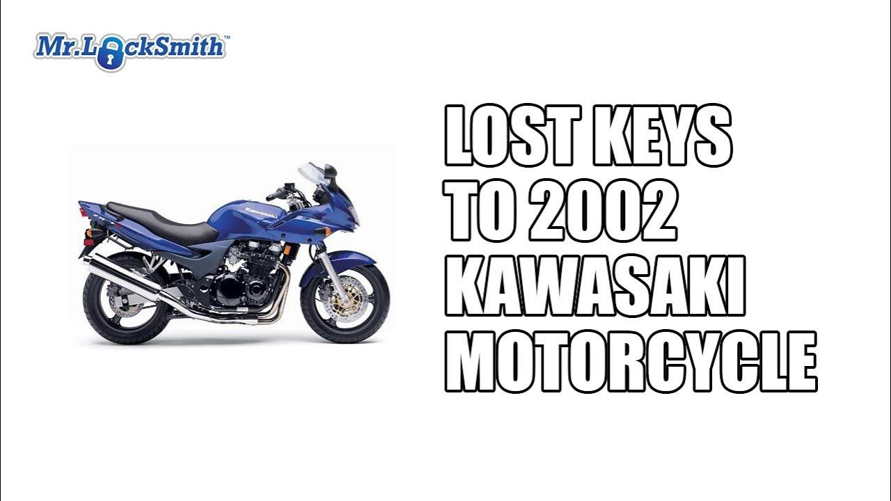 Lost keys to 2002 Kawasaki Motorcycle | Mr  Locksmith Video