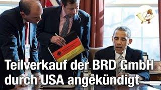 USA kündigen Teilverkauf der BRD GmbH an