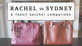 Rachel vs Sydney Satchel...and Why I Chose the Rachel!