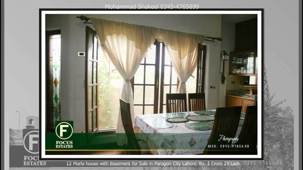 Antique 12 Marla House With Basement For Sale In Paragon