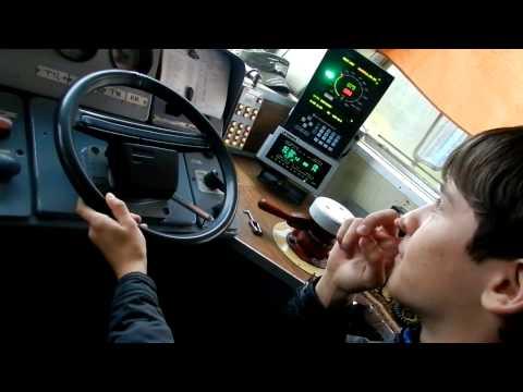 Как я вожу электричку =)