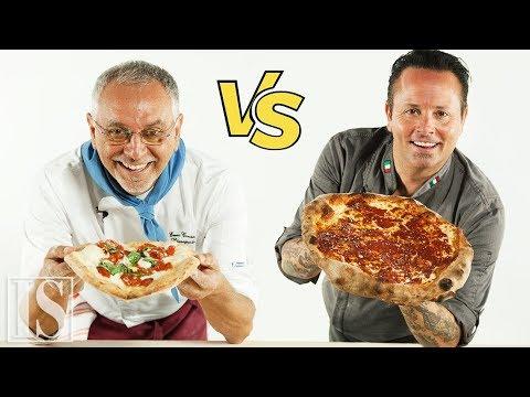Pizza: Napoletana Vs. New York Style - Enzo Coccia E Tony Gemignani