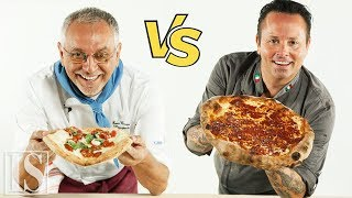 Pizza: Neapolitan vs. New York style - Enzo Coccia and Tony Gemignani