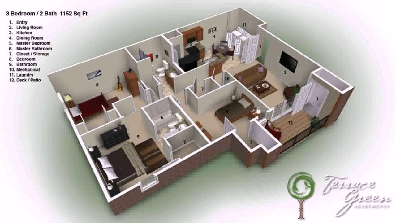 3 Bedroom 2 Bathroom 2 Story House