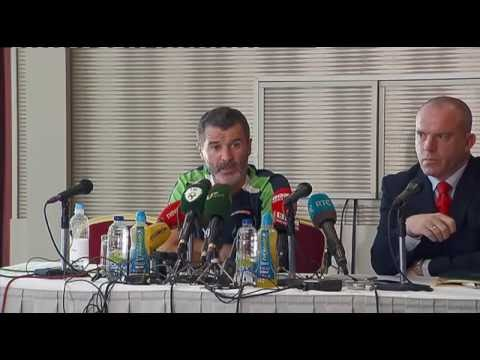 Republic of Ireland v Belarus - Post Match Press Conference  - Roy Keane (1/6/16)