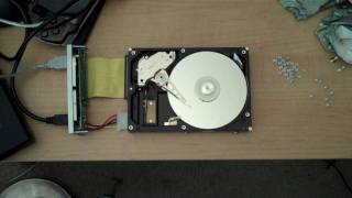 Open Hard Drive HGST 120GB 7200 rpm